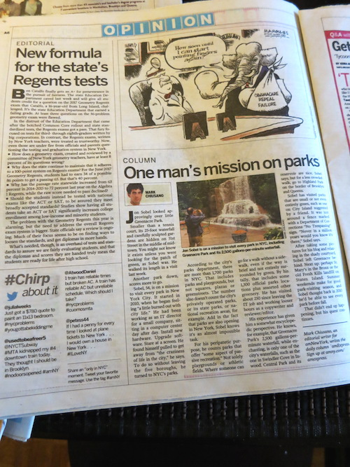 park odyssey featured in amny amnewyork nyc