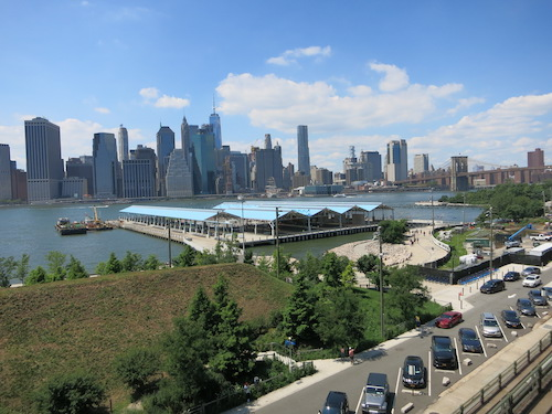 brooklyn heights promenade brooklyn bridge park nyc