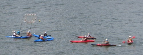brooklyn heights promenade kayak polo nyc