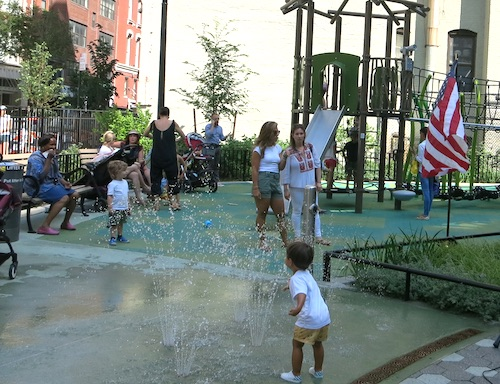 chelsea green park manhattan new york city parks