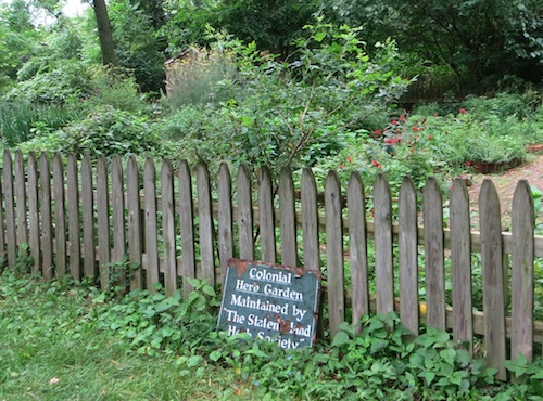 conference house park colonial herb garden staten island nyc