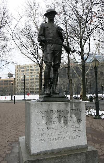 dewitt clinton park doughboy clinton war memorial