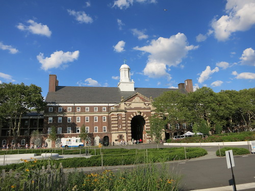 liggett hall liggett arch governors island nyc
