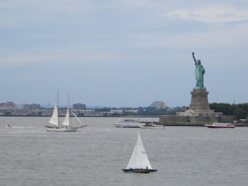 governors island hills statue of liberty nyc