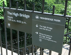 high bridge nyc