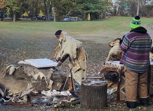 native american heritage mitsubishi riverwalk bronx river canoeing new york city parks