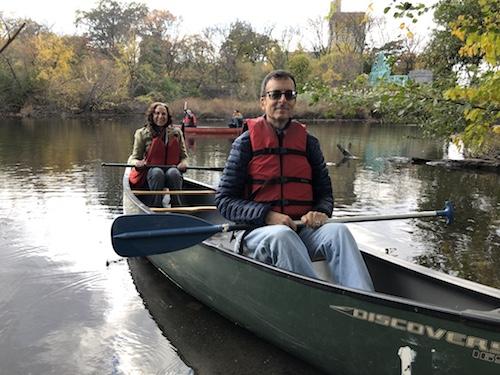 mitsubishi riverwalk bronx river canoeing new york city parks