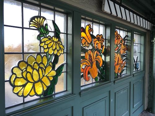 pelham parkway subway station stained glass bronx new york city