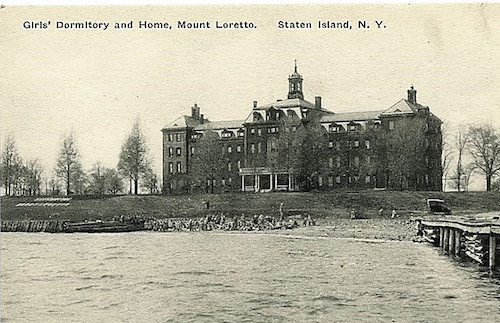 mount loretto orphanage staten island nyc