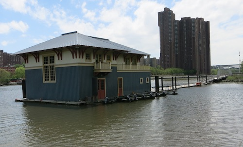 peter jay sharp boathouse swindler cove sherman creek park inwood manhattan nyc