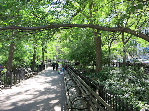 straus park manhattan nyc