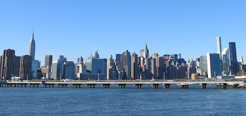 wnyc transmitter park greenpoint brooklyn nyc manhattan skyline