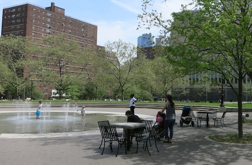 walt whitman park cadman plaza brooklyn nyc