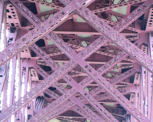 randalls island wards island bronx Hell Gate Bridge and Railroad Viaduct nyc
