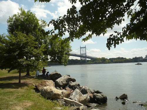 triborough bridge from wards island