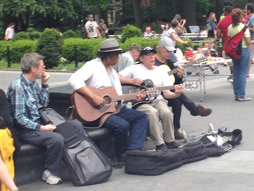 washington square park music nyc